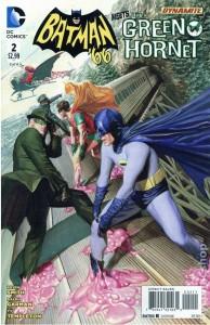 Batman 66 Meets the Green Hornet issue 2 cover