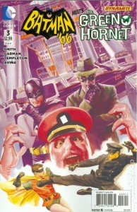 Batman 66 Meets the Green Hornet issue 3 cover