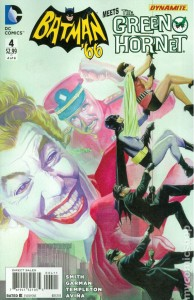 Batman 66 Meets the Green Hornet issue 4 cover