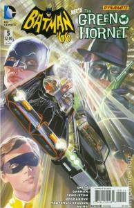 Batman 66 Meets the Green Hornet issue 5 cover