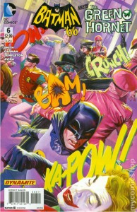 Batman 66 Meets the Green Hornet issue 6 cover
