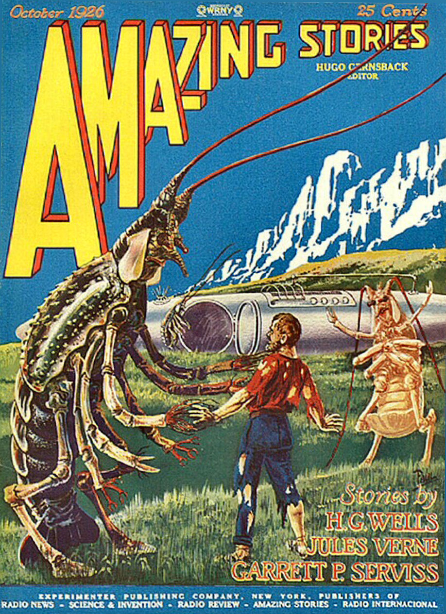 Figure 2 - Amazing Stories Vol. 1 No. 7 Cover