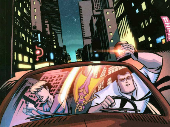 "Figure 2 - ""Powers"" - Walker and Pilgrim from the comic book"