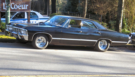 Figure 2 - Winchesters' Supernatural Impala