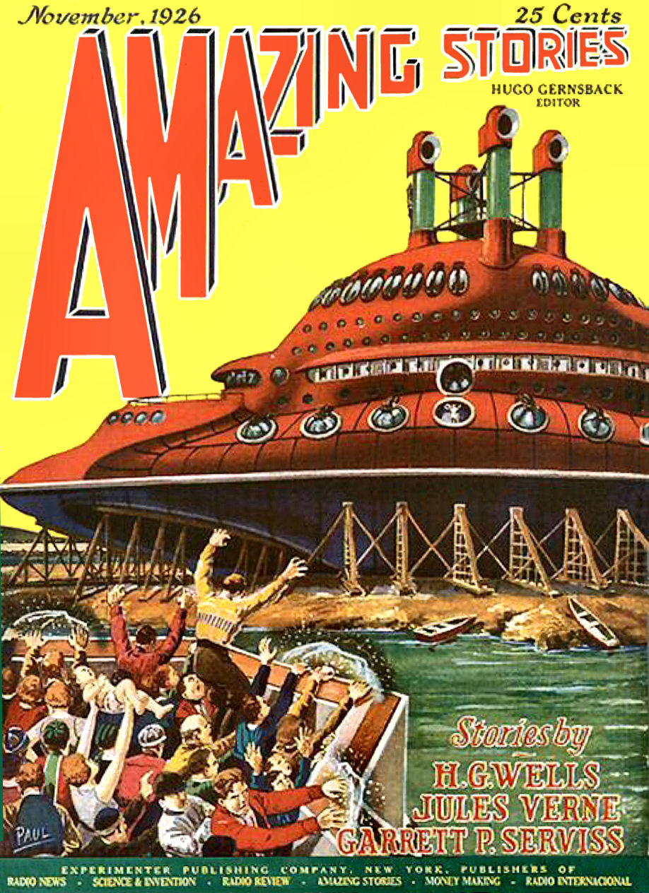 Figure 3 - Amazing Stories Vol 1 No. 8 Cover