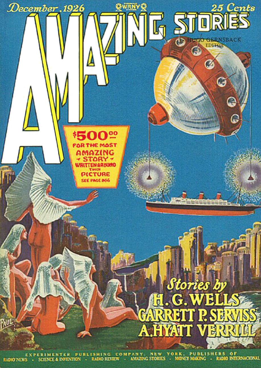 Figure 4 - Amazing Stories - Vol 1 No 9 Cover