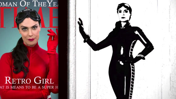 Figure 5 - Michelle Forbes as Retro Girl