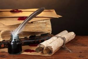 book scroll