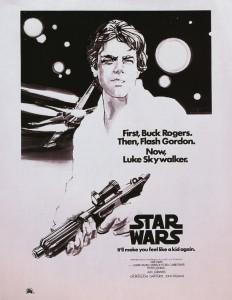 star wars early ad artwork