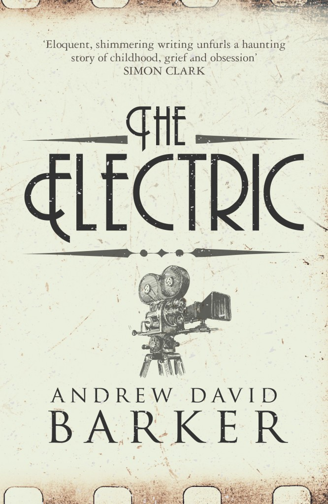 the new UK paperback edition of The Electric