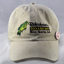 Figure 1 - Robicheaux Bait Shop hat