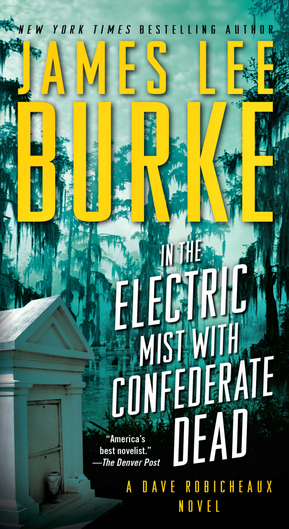 "Figure 2 – ""In the Electric Mist with Confederate Dead"" Book Cover"