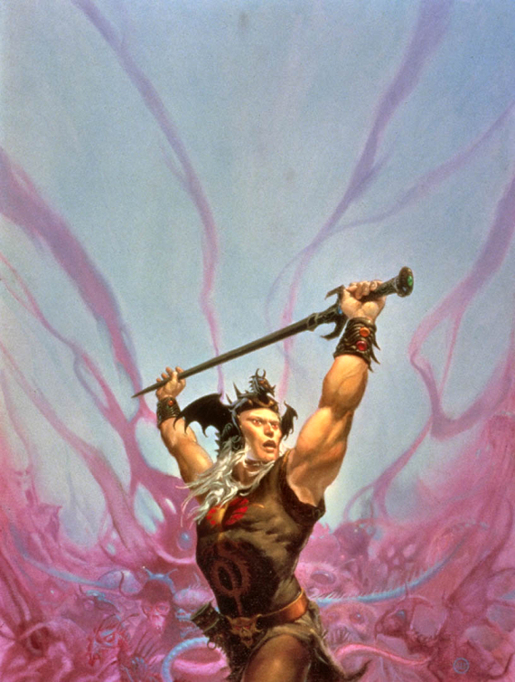 .Figure 3 - Michael Whelan's Elric of Melnibone ©Michael Whelan