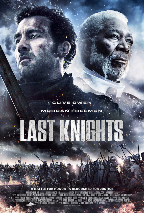 Figure 7 - Last Knights poster