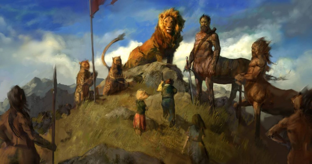 Justin Sweet Narnia Concept art