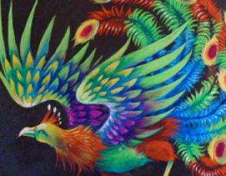 Asni's Art Blog: Feng Huang