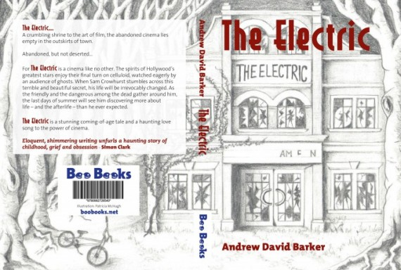 cover of the limited edition hardcover of The Electric