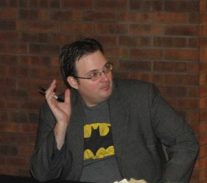 Brandon Sanderson picture taken by Jason Ernst