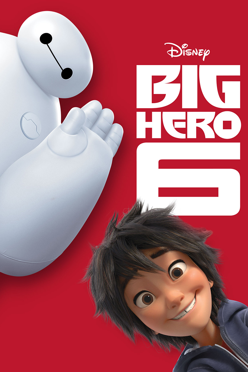 Figure 4 - Big Hero 6 Poster with Baymax and Hiro