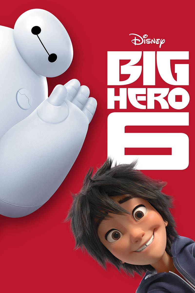 Figure 4 - Big Hero 6 Poster with Baymax and Hiro