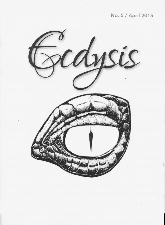 RG Cameron Clubhouse May 1 2015 Illo #1 'Ecdysis''