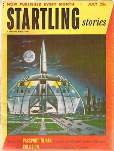 Startling Stories July 1952 cover