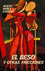 Portada original del libro El beso y otras fricciones (1975)
