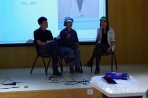 Wang Weijian (left), Gong Li (middle) and Chen Yilu (right)