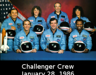 Space Shuttle First Flights: Challenger (January 28,1986)