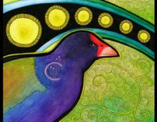 Asni's Art Blog: Legends of New Zealand
