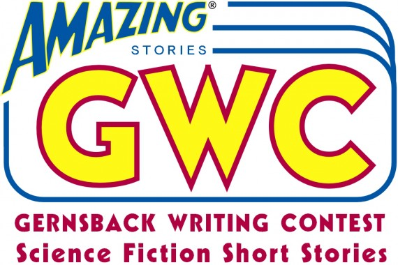 writing contest logo with trademark