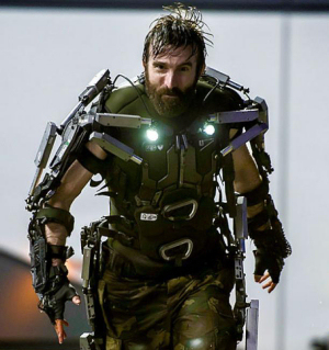 Figure 3 - Sharlto Copley in Elysium