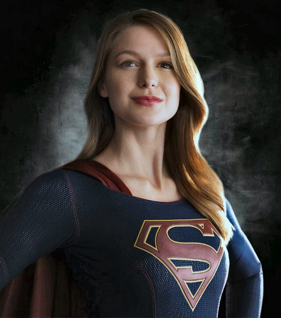 Figure 7 - Melissa Benoist as Supergirl