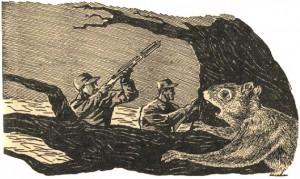 Illustration from Sept 1949 Astounding Stories, pg 69.