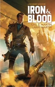 Iron and Blood by Gail Z Martin cover