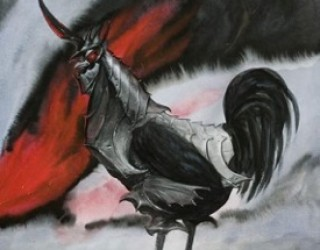 Asni's Art Blog: Chickens in Armour