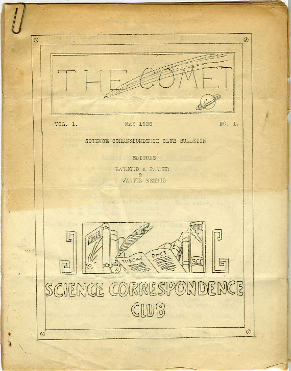 the comet 1 1930