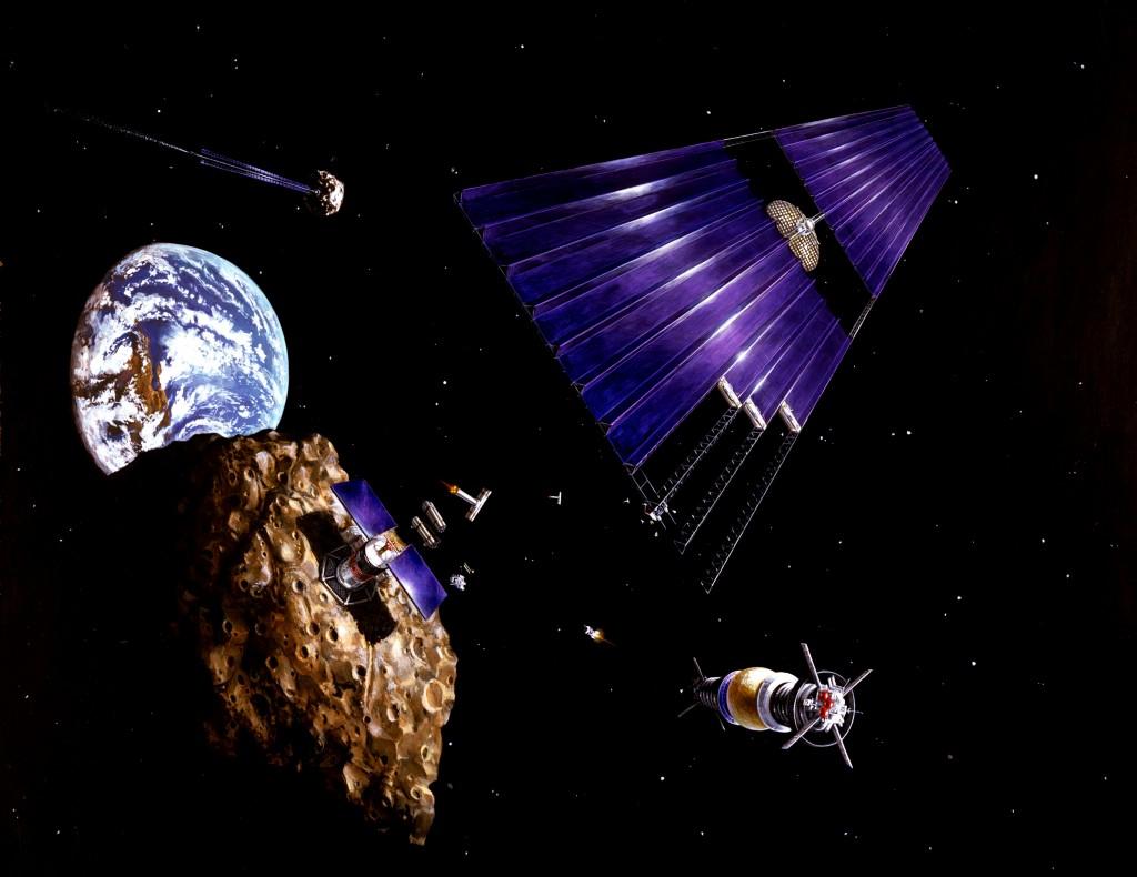 Asteroid Mining art_NASA