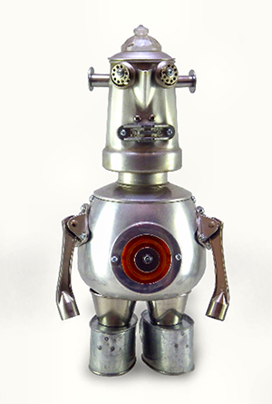 Figure 3 - Carl bot ©2015 by Lynne Taylor Fahnestalk