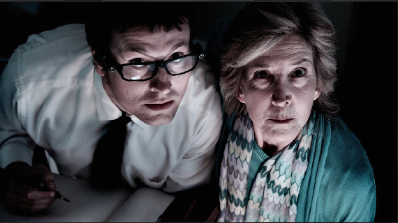 Figure 4 - Specs (Leigh Whannell) and Elise (Lin Shaye)