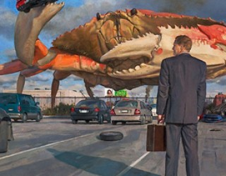 Surrealism: Giant Crabs Ate my Pontiac!