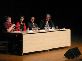 David Gullen, Karin Tidbeck, Mika Loponen, Sari Polvinen: Storytelling — The Different Ways We Tell and Take Part in Stories.