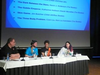 Carolina Gómez Lagerlöf, Jukka Särkijärvi, Marianna Leikomaa, Tommy Persson: Hugo discussion