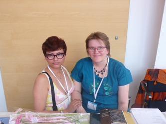 Con Anne Leinonen/ with Anne Leinonen