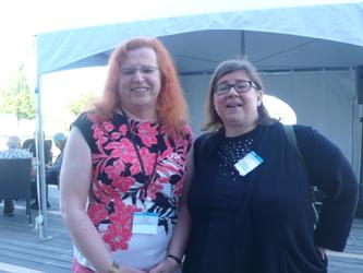 ...E Irma y Cheryl Morgan