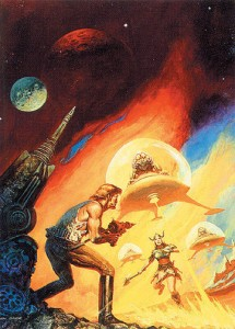 "Ken Barr's cover for ""No Brother, No Friend"" by Richard Meredith for Jove/Playboy Pub, 1979 (also in his card set)"