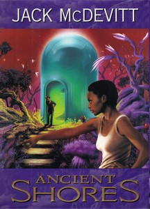 Ancient Shores cover art by Jim Burnes