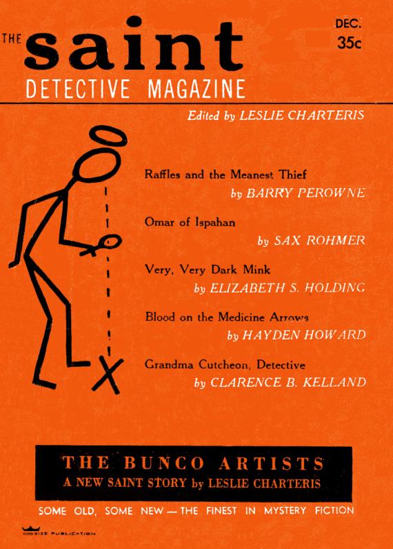 Figure 5 - The Saint Detective Magazine Dec, 1956