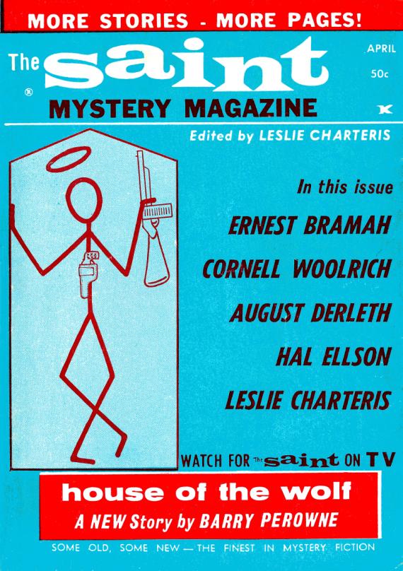 Figure 6 - The Saint Mystery Magazine April 1964