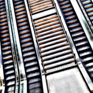 Asni's Art Blog: Escalator